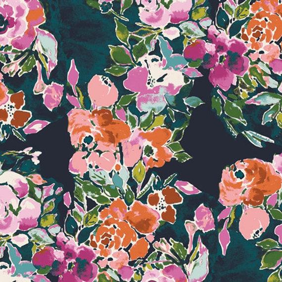 Bloomsbury by Bari J for Art Gallery Fabrics -  Fat Quarter of Botanists Essay