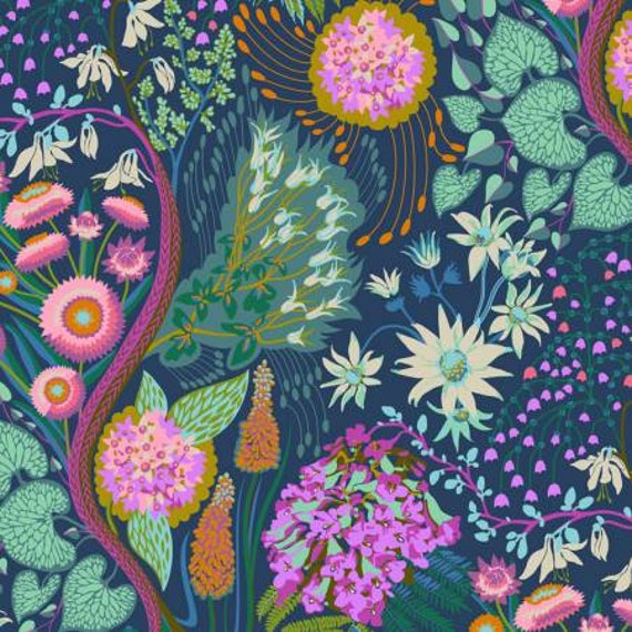 Sweet Dreams by Anna Horner for Free Spirit Fabrics - Source Code in Glisten