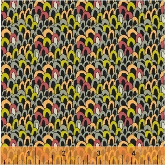 Fantasy by Sally Kelly for Windham Fabrics - Fat Quarter of 51294-2