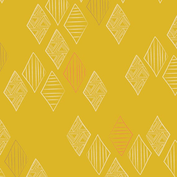 Matchmade by Pat Bravo for Art Gallery Fabrics - Quartz in Gold