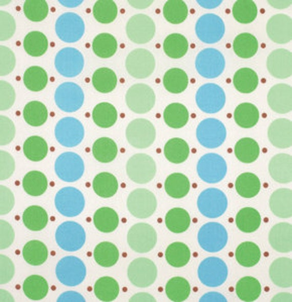Katie Jump Rope by Denyse Schmidt for Free Spirit Fabrics - Big Dot in Fairway