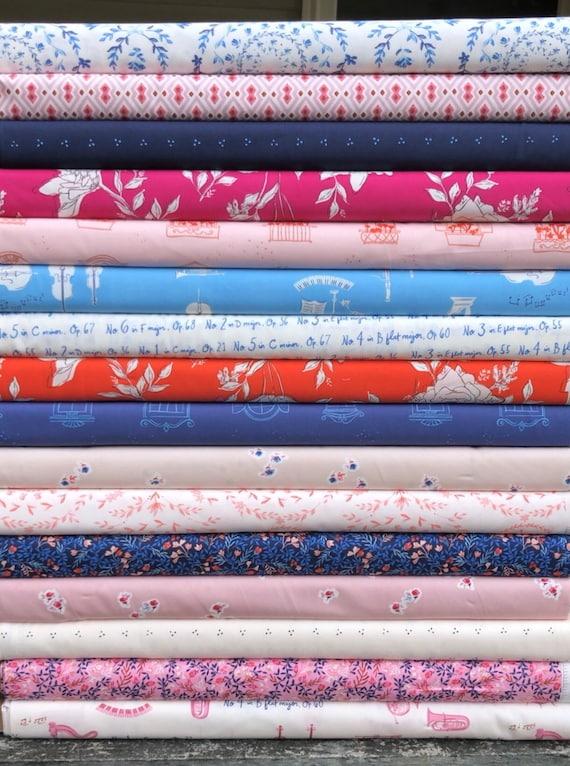 Fat Quarter Bundle of 16 Art Gallery Fabrics -- Sonata by Amy Sinibaldi