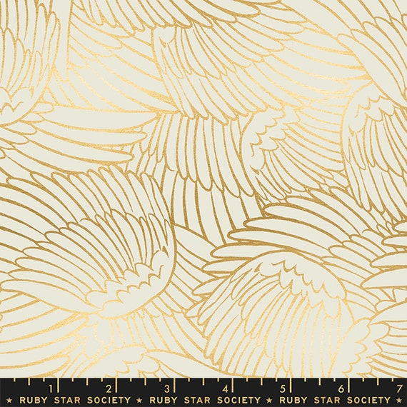 Florida Shade Wild Wings in Shell RS2026 11M by Sarah Watts -Ruby Star Society - Fat Quarter