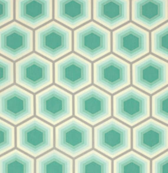 Fat Quarter Honeycomb in Jade - Tula Pink Bumble