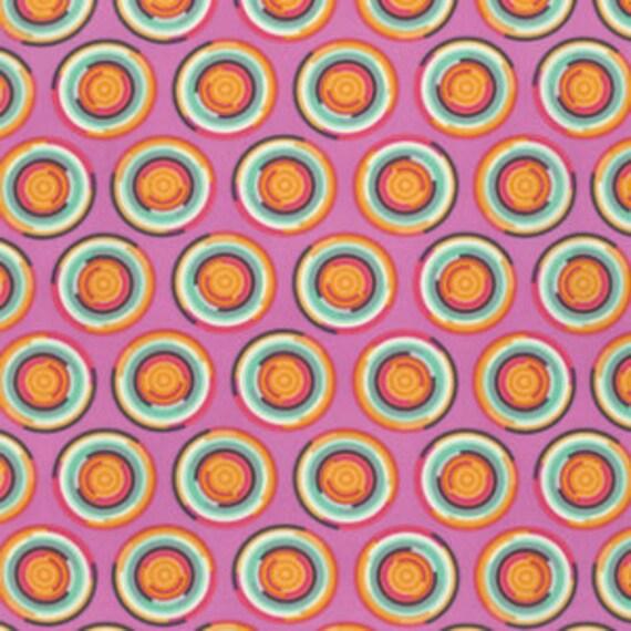 Fat Quarter Hypnotizer in Sorbet - Tula Pink Chipper