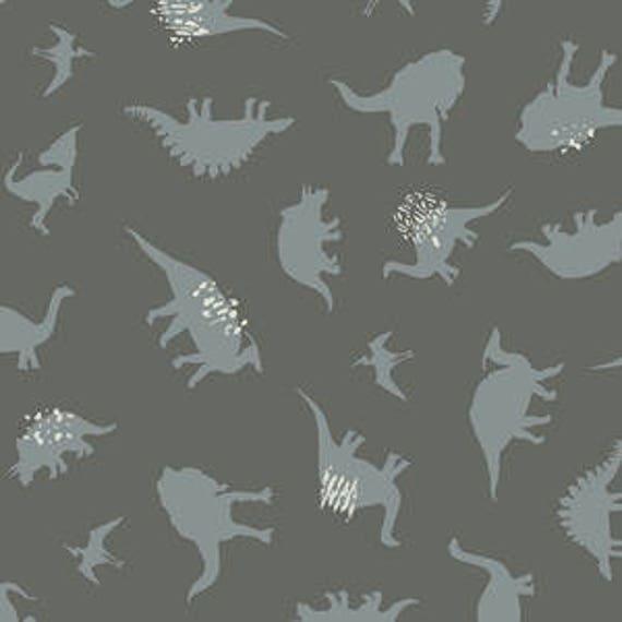 Esoterra by Katarina Rocella for Art Gallery Fabrics - Dinomania in Subtle