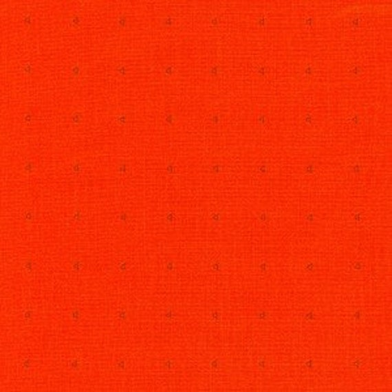 In Stock! Friedlander by Carolyn Friedlander - Fat Quarter- Shirting in Tangerine