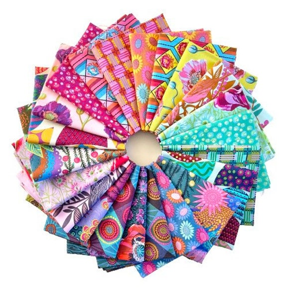 Bright Eyes Fat 8th Bundle by Anna Maria Horner Fabrics for Free Spirit Fabrics - 22 in total