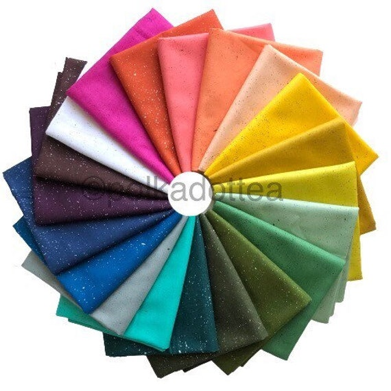 IN STOCK! Spectrastatic 2 by Giucy Giuce for Andover Fabrics - Fat Quarter Bundle of 20