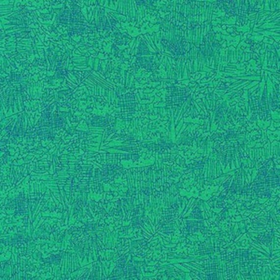 In Stock!  Friedlander by Carolyn Friedlander - Fat Quarter- Green Wall in Fern