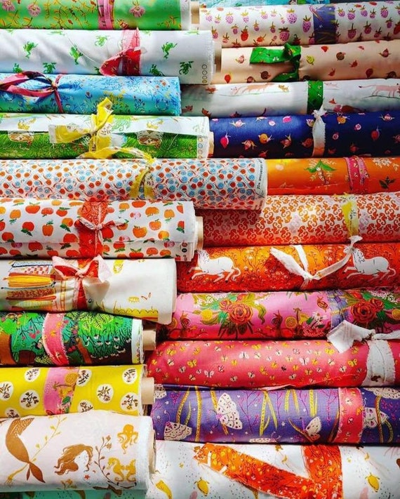 Heather Ross 20th Anniversary Collection for Windham Fabrics - Fat Quarter Bundle of All 21 Prints