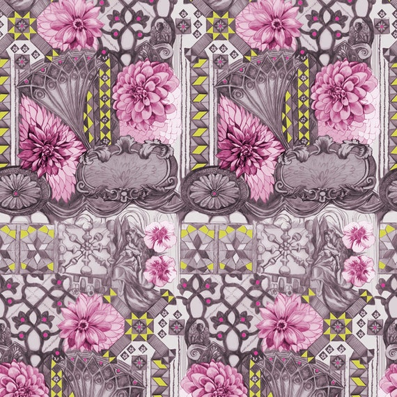 English Summer by Anna Horner for Free Spirit Fabrics - Tourist in Ruby
