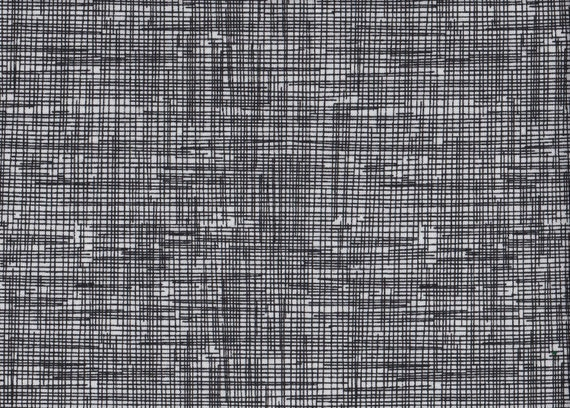 Sketch Fabric by Timeless Treasures - Fat Quarter of Black on White background