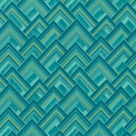 Amy Butler Splendor -- Fat Quarter of Mighty Corners in Sage