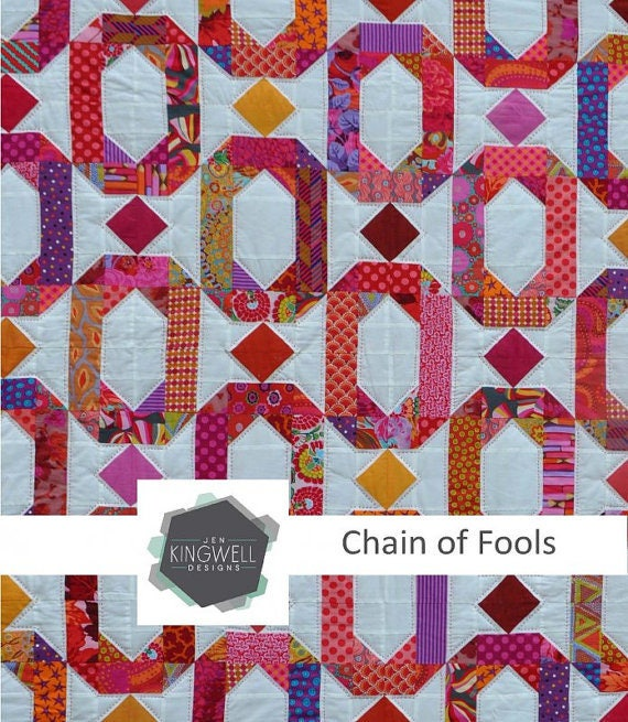 Chain of Fools - Pattern by Jen Kingwell