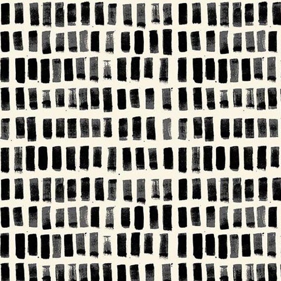 Home by Sarah Golden for Andover Fabrics - Fat Quarter of Brush Strokes in Night -- Cotton