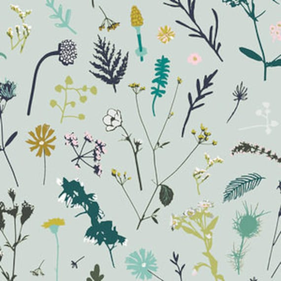 Esoterra by Katarina Rocella for Art Gallery Fabrics - Plantae in Aurora