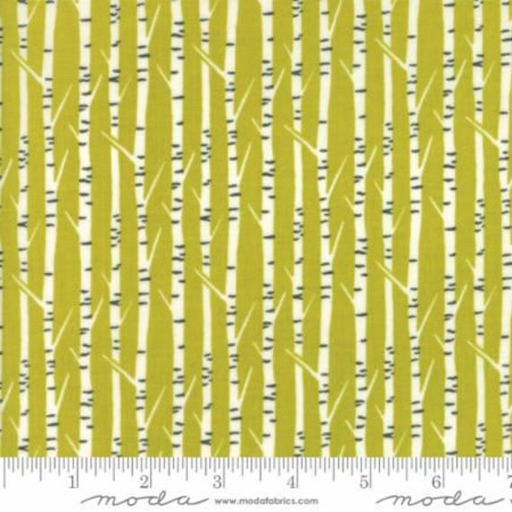Moda Big Sky Birch Ochre (1670513) by Annie Brady -- Fat Quarter