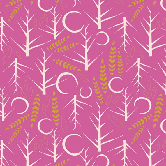 Lugu by Jessica Swift for Art Gallery Fabrics - Fat Quarter of Naktis Cirsium