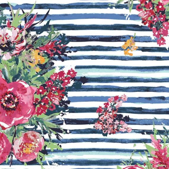 Aquarelle by Katarina Rocella for Art Gallery Fabrics - Plein Air in Bouquet