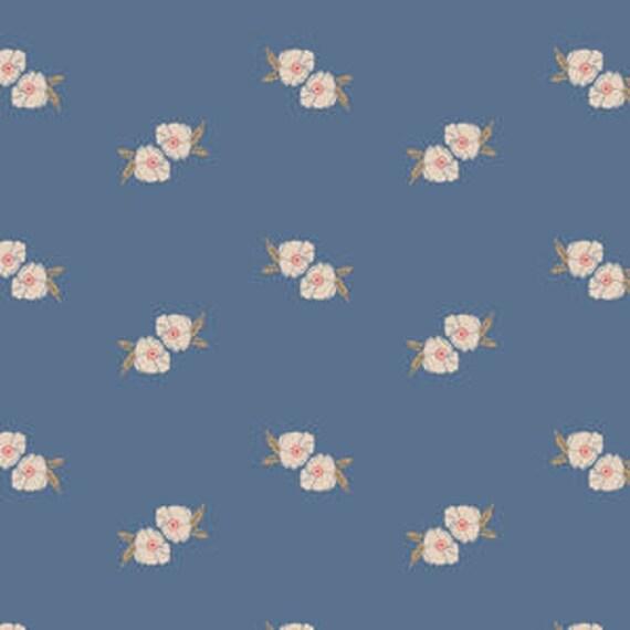 Love Story by Maureen Cracknell for Art Gallery Fabrics - Flower Stamp in Spell