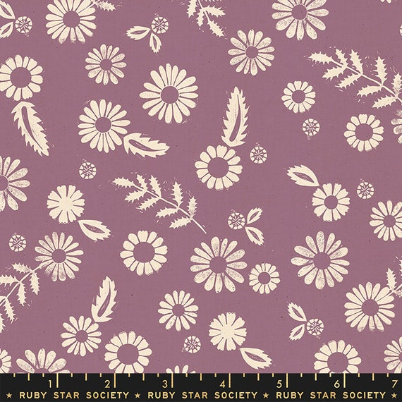 Golden Hour -- Daisy in Lilac (RS4017-12) by Ruby Star Society for Moda -- Fat Quarter