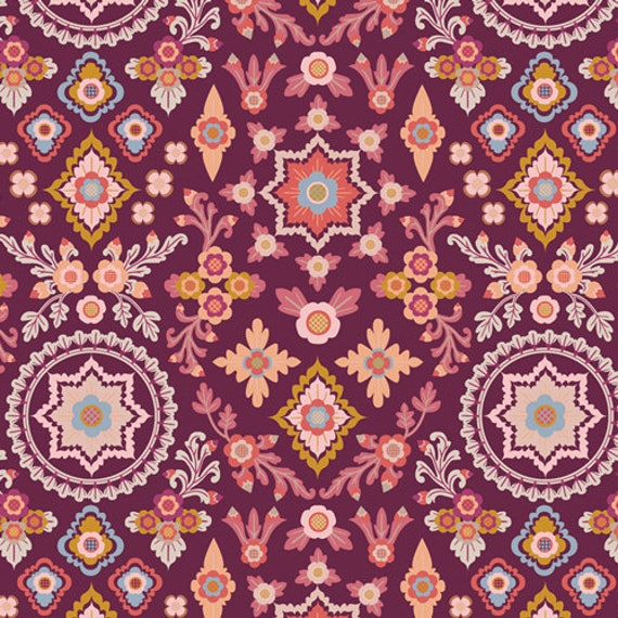 Rosewood Fusion by Mister Domestic for Art Gallery Fabrics - Aloha Spirit- Fat Quarter