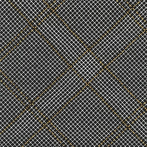 Collection CF by Carolyn Friedlander - Fat Quarter- AFRM-19932-2 BLACK