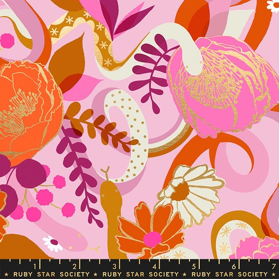 Rise Dream in Peony RS0011 12M by Melody Miller - Ruby Star Society - Fat Quarter