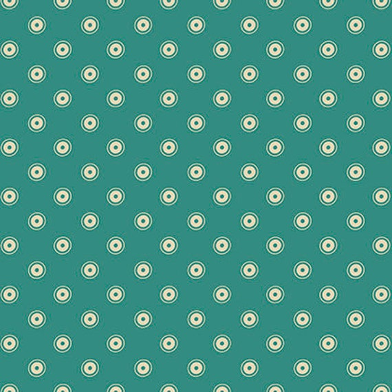 Washington Depot by Denyse Schmidt for Free Spirit Fabrics -  Trippy in Teal