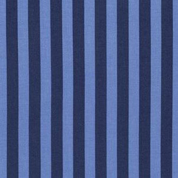 Fat Quarter Tent Stripe in Blue Bird - Tula Pink's Tabby Road