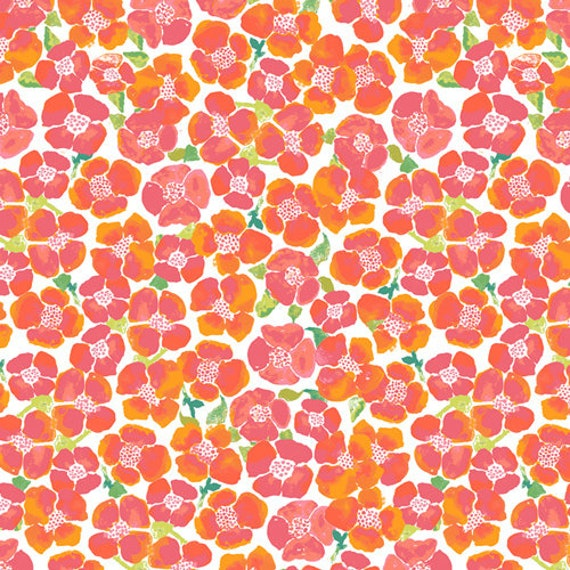Floralish by Katarina Roccella for Art Gallery Fabrics -  Blooms Field in Luminous - Fat Quarter