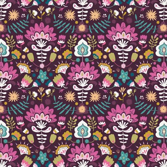Lugu by Jessica Swift for Art Gallery Fabrics - Fat Quarter of Efflorescent Opulent
