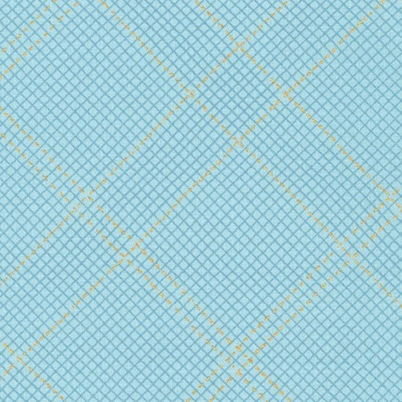 Collection CF by Carolyn Friedlander - Fat Quarter- AFRM-19932-68 Dusty BLUE