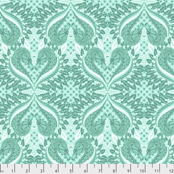 Fat Quarter Gate Keeper in Frolic - Tula Pink's Pinkerville for Free Spirit Fabrics