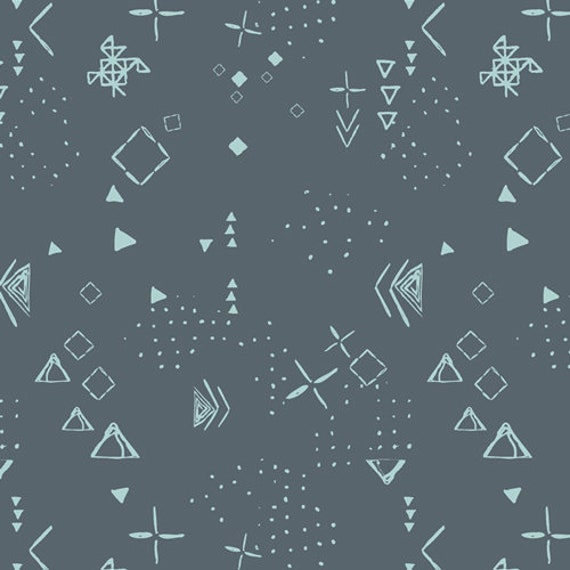 Matchmade by Pat Bravo for Art Gallery Fabrics - Thoughts in Midnight