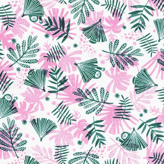 Robert Kaufman -       AIL-19558-106 BLOSSOM by Hello!Lucky from Wild and Free - Fat Quarter
