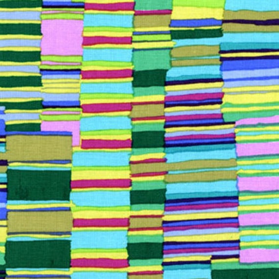 Kaffe Fassett Collective  -- Fat Quarter of Shirt Stripes in Green