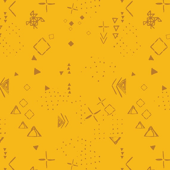 Matchmade by Pat Bravo for Art Gallery Fabrics - Thoughts in Gold