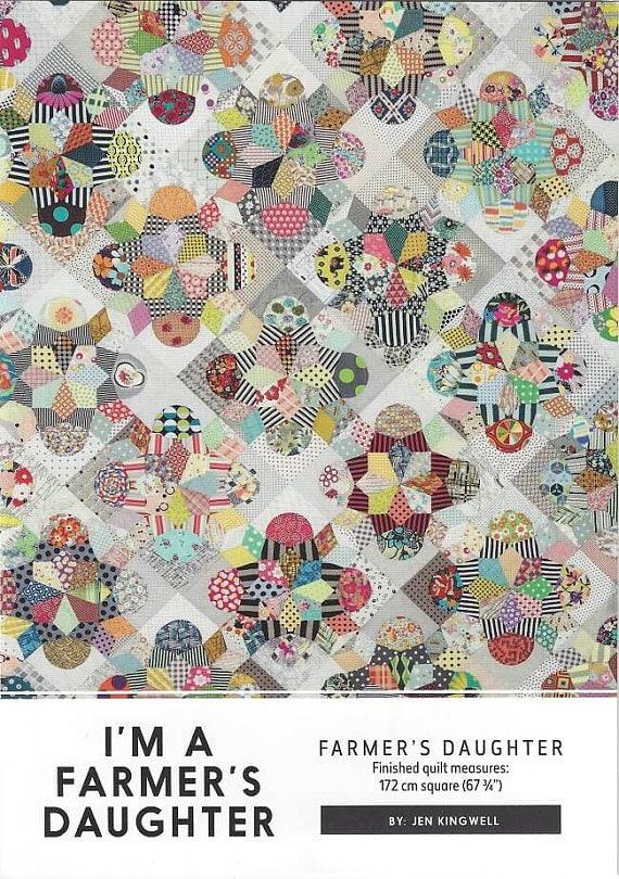 I'm a Farmer's Daughter - Pattern by Jen Kingwell