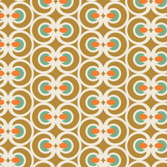 Spices Fusion by Art Gallery Fabrics - Op Art in Spices - Fat Quarter