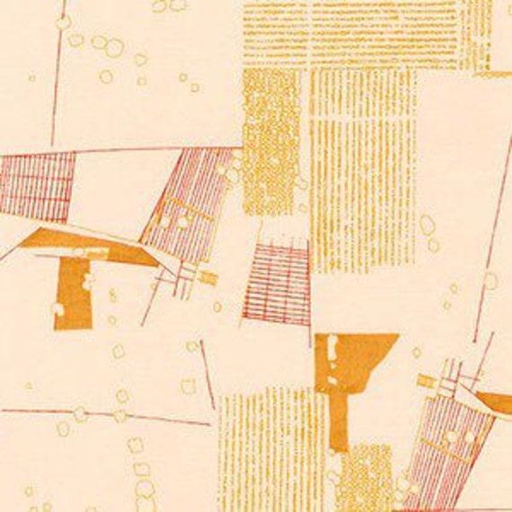 In Stock! Friedlander by Carolyn Friedlander - Fat Quarter- Aerial in Tangerine