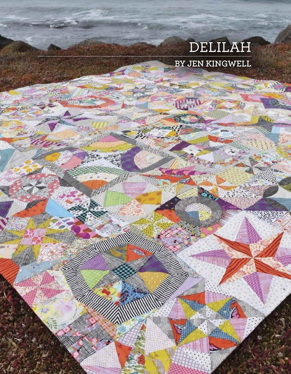 Delilah - Pattern Booklet Only by Jen Kingwell