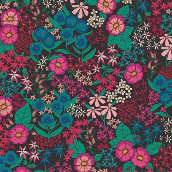 The Flower Society for Art Gallery Fabrics - Perennial Soiree - Fat Quarter