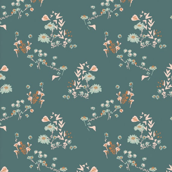 Bookish by Sharon Holland for Art Gallery Fabrics - - Fat Quarter Camomile Bliss Fresh