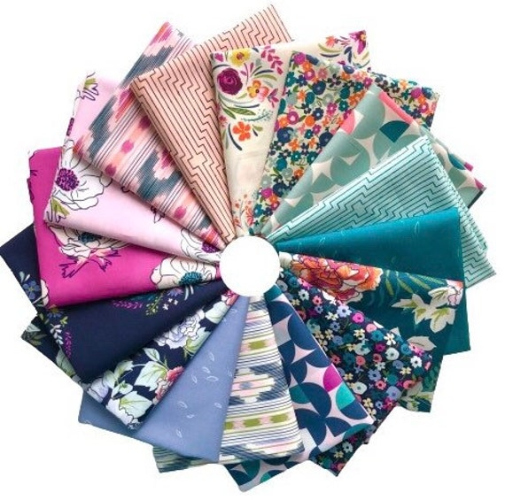Trouvaille by Art Gallery Fabrics - Fat Quarter of Bundle of all 16