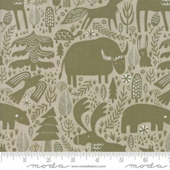 Moda Big Sky Montana Stone (1670012) by Annie Brady -- Fat Quarter