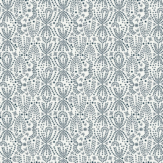 Lugu by Jessica Swift for Art Gallery Fabrics - Fat Quarter of Konstelacija Valge