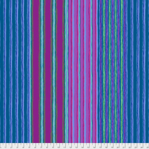 Kaffe Fassett Collective  -- Fat Quarter of Kaffe Fassett Fall 2017 Regimental Stripe in Blue