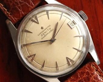 fcb951b6e59da ZENITH - Vintage CHRONOMETRE ZENITH Automatic Mens Watch - Long Lugs - Cal.  2532PC - 1960s
